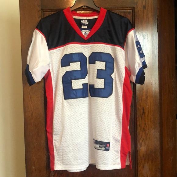 official photos 0de32 09b68 Marshawn Lynch Buffalo Bills Throwback NFL Jersey
